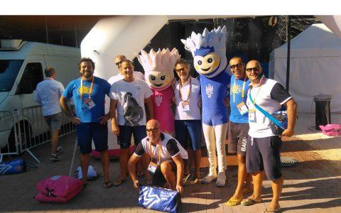 Mondiali Budapest 2017-Le Mascotte
